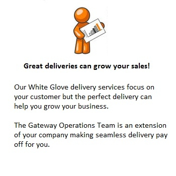 White Glove Delivery Grow your sales